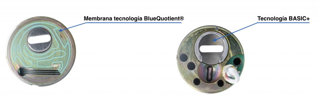 Blue Quotient